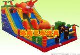 72平方米兔子充气大滑梯超值优惠 湖北黄冈儿童气垫蹦床质量最佳