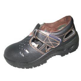 夏季透气劳保鞋 凉鞋防砸防穿刺劳保鞋 钢包头安全鞋