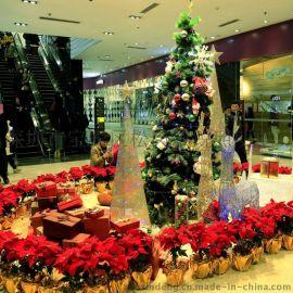 專業聖誕樹 1.5米聖誕樹 聖誕掛件聖誕樹造型燈 led聖誕場景商場