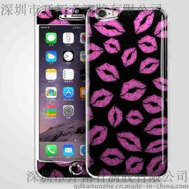 定制苹果6滴胶贴膜 手机滴胶贴 淘宝   防滑防辐射 可反复粘贴