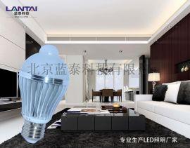 楼梯灯走道灯铝壳宽电压隔离电源5W红外感应灯人体感应灯感应球泡