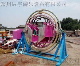 广场儿童三维太空环 小型游乐设施厂家