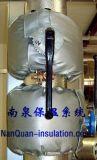 蝶閥隔熱保溫罩蝶閥可拆卸式節能保溫套