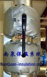 蝶阀隔热保温罩蝶阀可拆卸式节能保温套