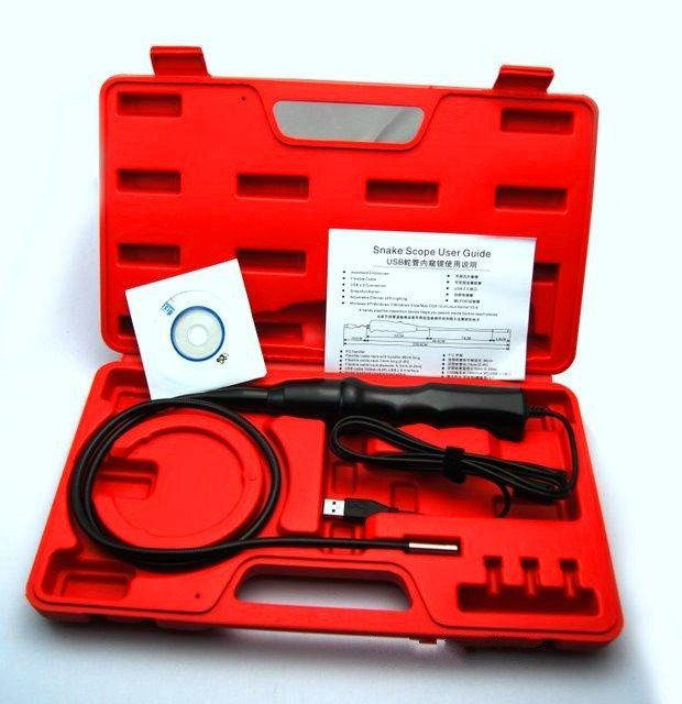 銳傲視訊 7mm 工業內窺鏡 送工具箱 可選配側視鏡 鉤子 磁鐵