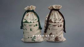 郑州袋礼品大米袋棉布包装袋设计定制厂家