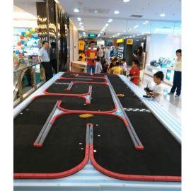 多弯道易拼装12平米遥控车赛道 Miniz蚊车玩具汽车轨道四驱车跑道