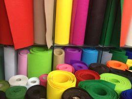 腾运毛毡厂供应彩色毛毡 可以用于装饰