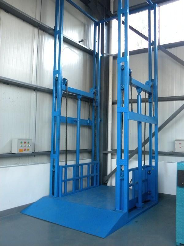 升降平臺導軌式鏈條式電動液壓升降機