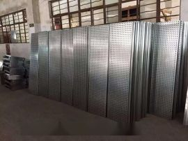 定制镀锌钢板-白色镀锌钢板-银灰色冲孔镀锌钢板