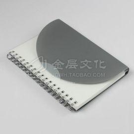 环保线圈本PP封面;可定制印刷笔记本、记事贴、斜面纸砖
