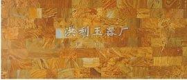 洪利玉器 木纹石床板 70*170mm 加热玉石床板