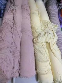 莫代尔回货,肉色提花,浅黄细条纹,卡其条纹,都成匹,手感垂坠,冰凉,做家居服,睡衣,内衣超爽滑,13421465208,速定物美价廉