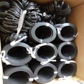 德强厂家供应 高品质法兰橡胶垫片/橡胶密封垫片