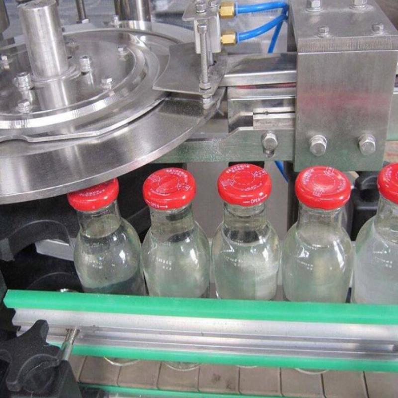 全自动灌装机设备 小瓶水三合一灌装生产线