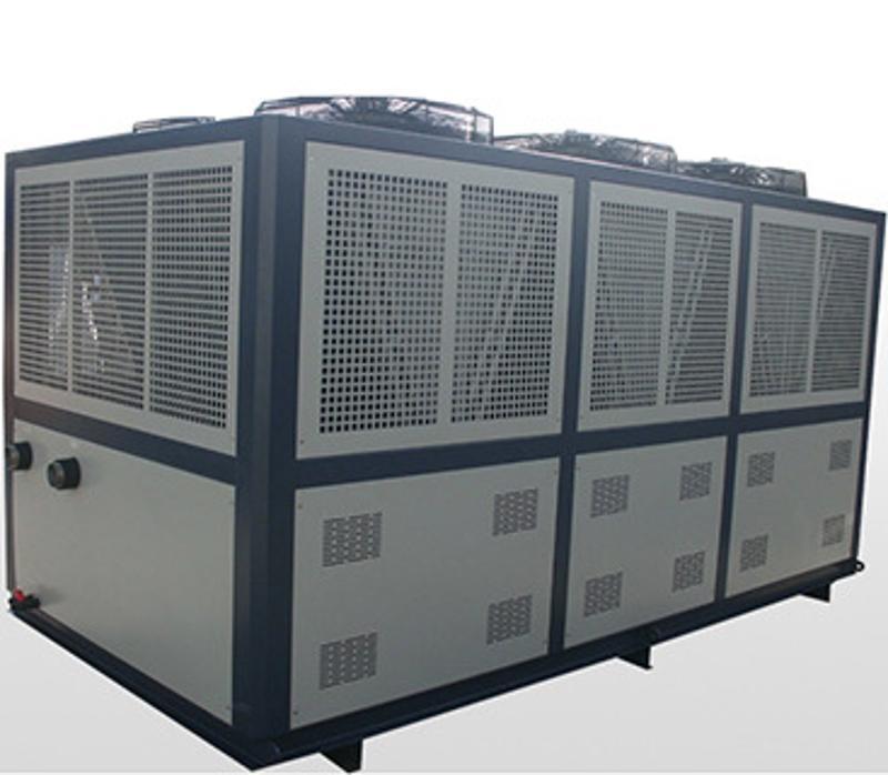 江苏挤出机建筑模板设备冷水机厂家30P非标定制