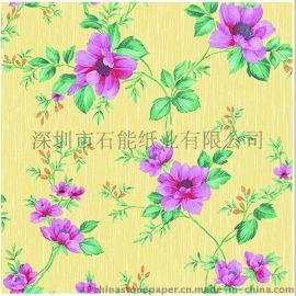 深圳墙纸壁纸原纸供应 防水防油防霉防蛀 阻燃