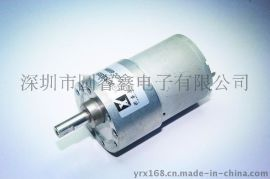12V减速马达金属齿轮箱GA/GB37-3530直流减速电机