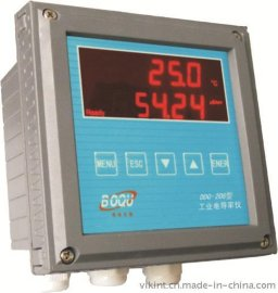 上海博取208多通道工业电导率仪多参数同时显示带温补全智能化连续监测仪表