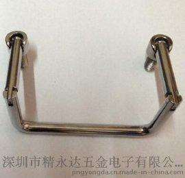 供应LS506折叠拉手 不锈钢拉手 通信柜拉手 锌合金拉手 电柜门拉手