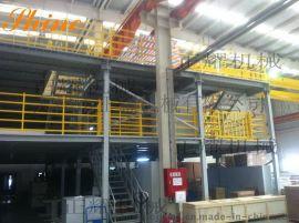 2014三层阁楼货架系统工程