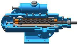 南京艾科泵业全系列供应点火油泵三螺杆泵SMH210R40U12.1W0