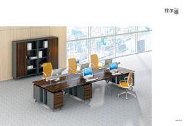 广东迪欧办公家具现代简约事业单位主管办公桌-经理组合办公桌,三角形职员办公位