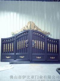 厂家定制别墅大门 铜门 欧式铁艺风格铝艺大门