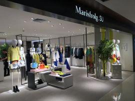 深圳玛丝菲尔素服装展示道具领秀展示定制