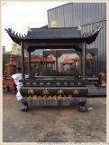正圆工艺厂供应长方形香炉,寺庙铸铁长方形香炉厂家