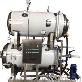 杀菌机 控温控时咸鸭蛋灭菌设备   反压杀菌锅