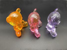 PMMA节日礼品水晶熊