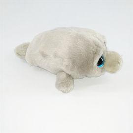 定制动物毛绒玩具海狮公仔吉祥物礼品可加logo定做