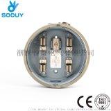 Soouy 单相100A 圆形美式电表插座
