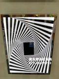 鐳射鏡子雕刻鐳射鏡子剝漆加工