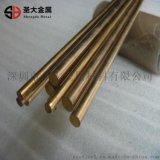 折弯易车黄铜圆条 铆料铜棒 机械零部件用铜棒