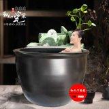 溫泉洗浴大缸口徑1.2米正規泡澡大缸