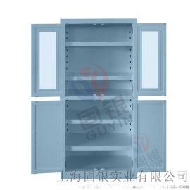 上海固银耐腐蚀柜四门药品柜PP器皿柜厂家直销