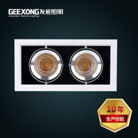廠家直銷高亮度雙頭20W30W斗膽燈COB豆膽燈