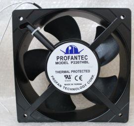 P2207HBL AC230V 50/60HZ 0.3/0.46A PROFANTEC风扇