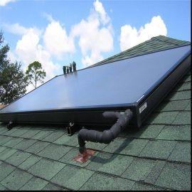 经济环保高层太阳能供热工程用平板太阳能热水器