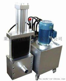 不停机左右双工位自动换网机头 液压网模头换网器