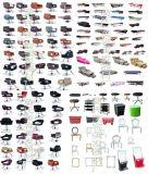 广西柳州莫氏批发供应美理发椅、洗头床、大工椅、镜台
