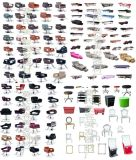 廣西柳州莫氏批發供應美理發椅、洗頭牀、大工椅、鏡臺