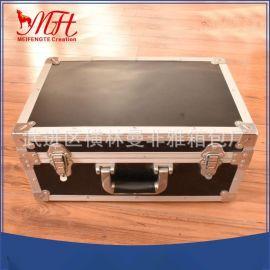 厂家定制**铝合金航空箱  黑色航空工具箱设备收纳箱 火爆销售