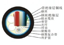 太平洋各种型号光缆 光电复合缆 光电复合缆(2-48芯)厂家