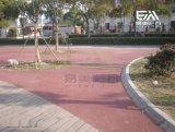 透水混凝土 露骨料 环保透水路面施工材料