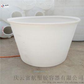 敞口1吨泡菜腌制桶 皮蛋腌制1立方塑料盆