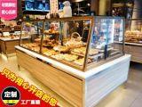 铁艺面包柜新款蛋糕展示柜蛋糕模型柜超市货架面包货架中岛柜边柜
