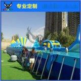 支架水池超大型儿童成人游泳池移动式家庭游泳池水上乐园设备定做